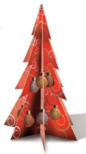 Bagno schiuma in pallina di Natale